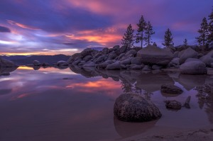 Sand Harbor Twilight