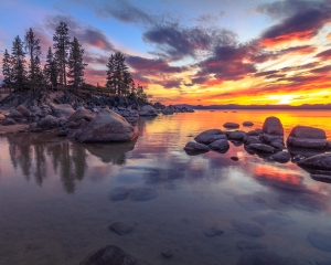 Sand Harbor Sunset